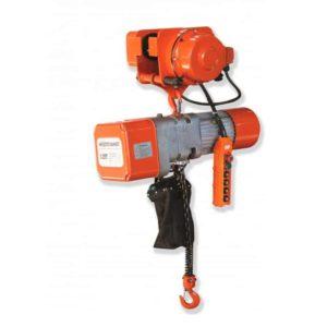 Polipasto eléctrico con carro y cadena