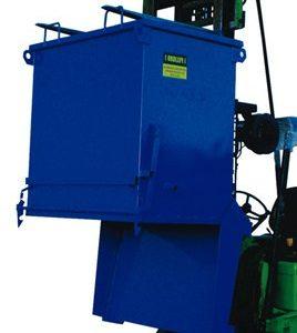 Contenedor descarga inferior para la gestión de residuos