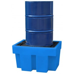 Cubeto de retención CPP1 con rejilla extraíble