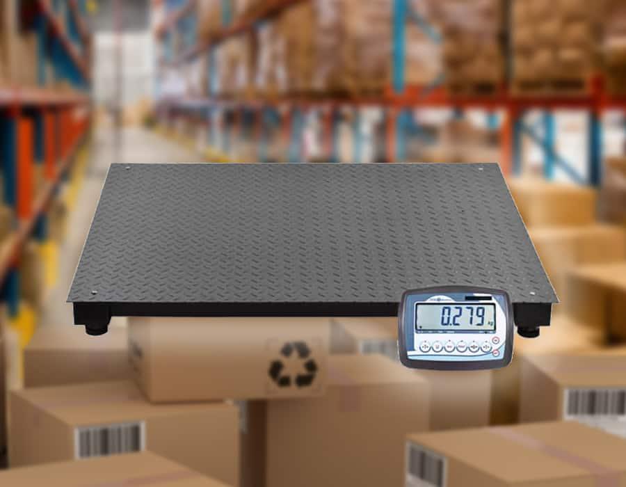 Ejemplo de plataformas de pesaje